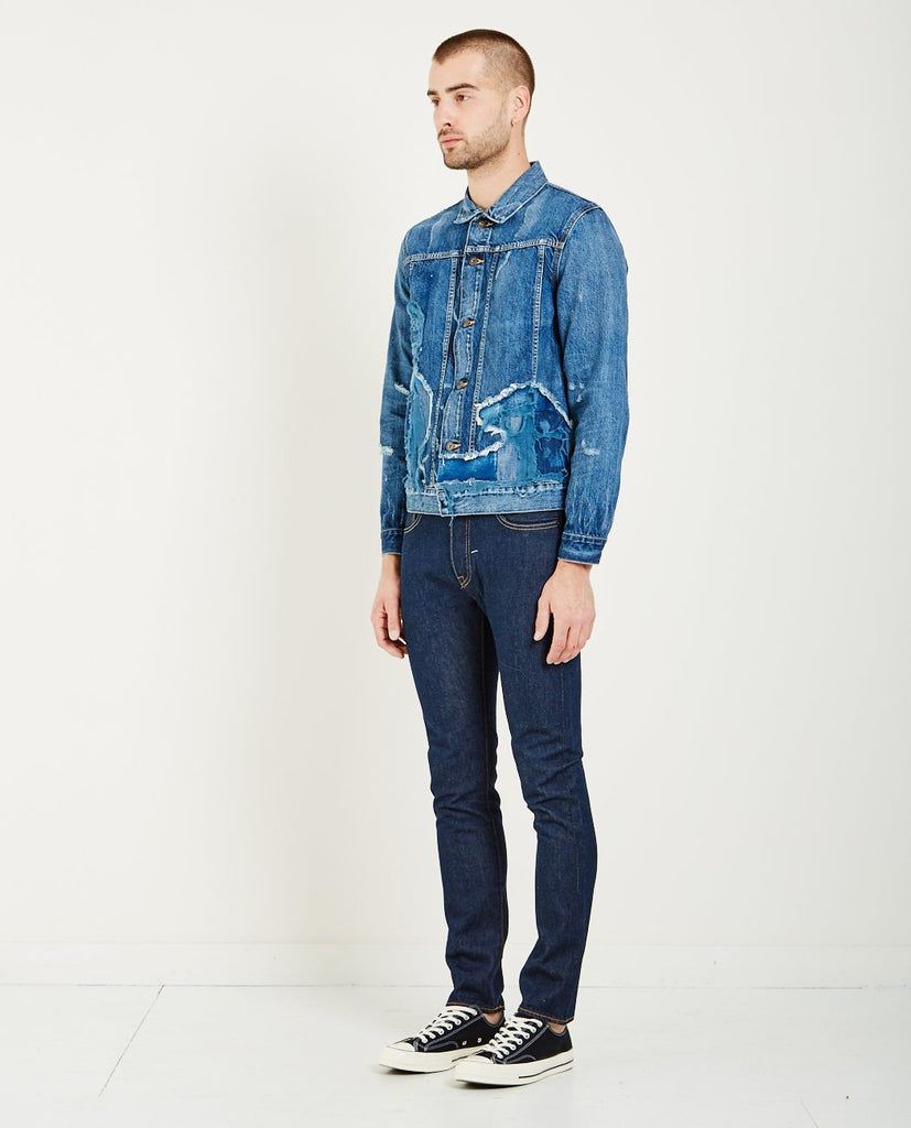 TYPE IV PATCHED TRUCKER JACKET-LEVI'S: MADE & CRAFTED-American Rag Cie