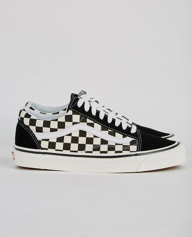 VANS AUTHENTIC 36 DX ANAHEIM FACTORY OLD SKOOL MAUVE CHECKERBOARD