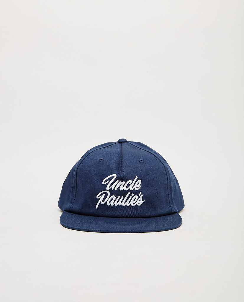 UNCLE PAULIE'S DELI-Uncle Paulie's Snapback Navy-Men Hats-{option1]