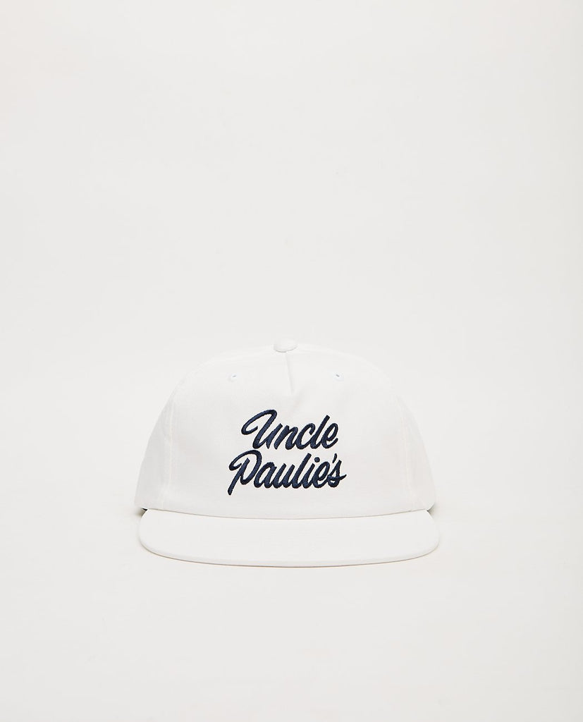 UNCLE PAULIE'S DELI-Uncle Paulie's Snapback White-Men Hats-{option1]