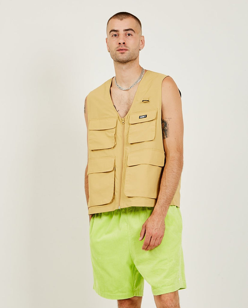 OBEY-Undertone Vest-Men Coats + Jackets-{option1]
