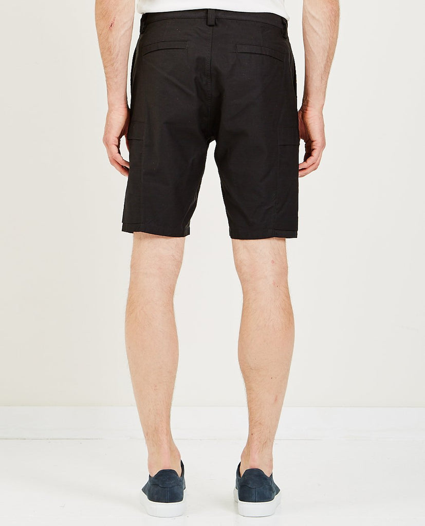 WINGS+HORNS-UTILITY COTTON CARGO SHORT-Men Shorts-{option1]