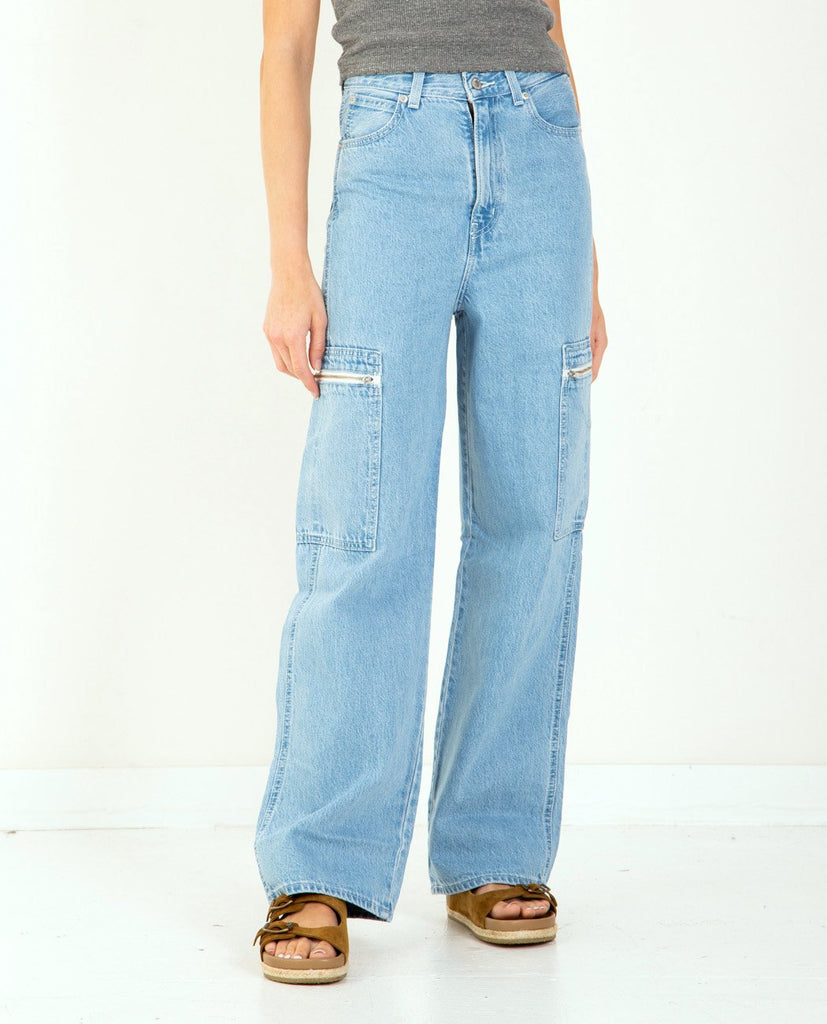 LEVI'S-Utility High Loose-SUMMER20 Women Straight-{option1]