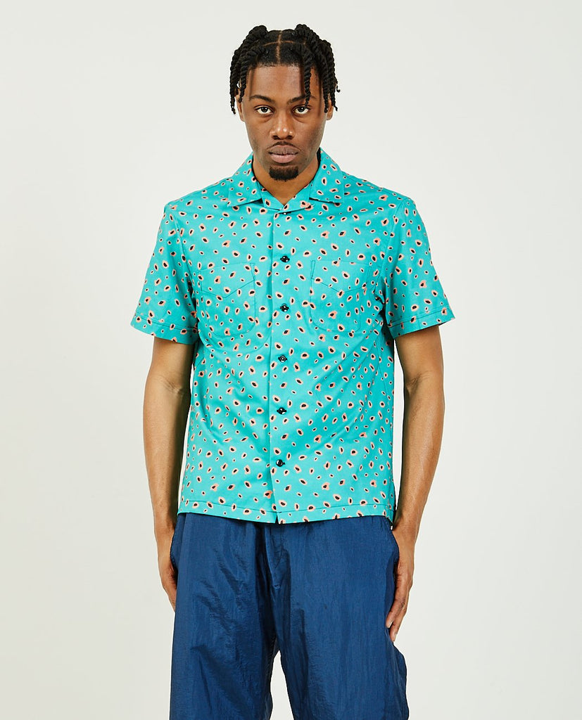 Vacation Shirt Green-MONITALY-American Rag Cie