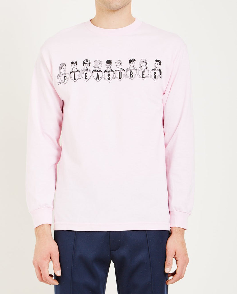 VALENTINE LONG SLEEVE TEE-PLEASURES-American Rag Cie