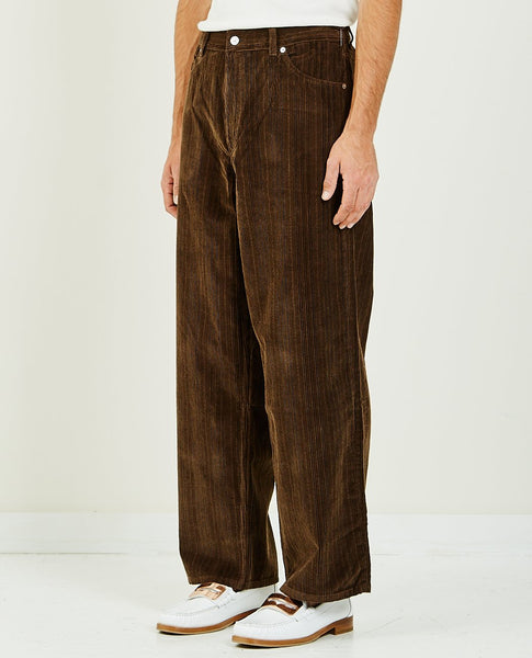 OUR LEGACY VAST CUT BROWN CHOCOLATE CORDUROY