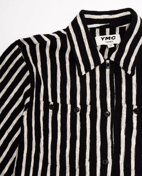YMC Vegas Striped Shirt