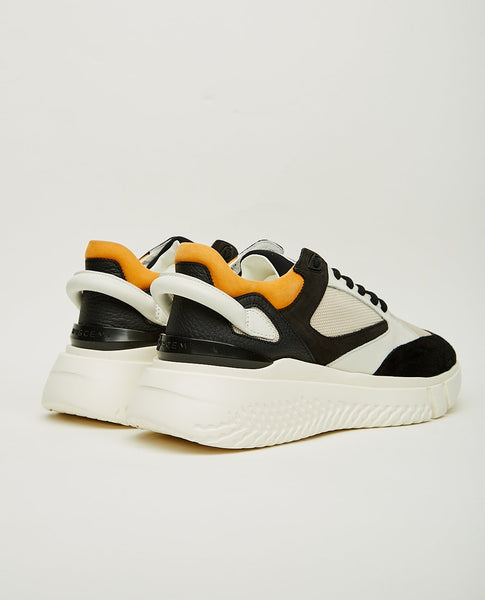 BUSCEMI Veloce Runner Off White & Black