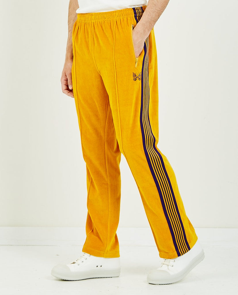 Velour Narrow Track Pant-NEEDLES-American Rag Cie