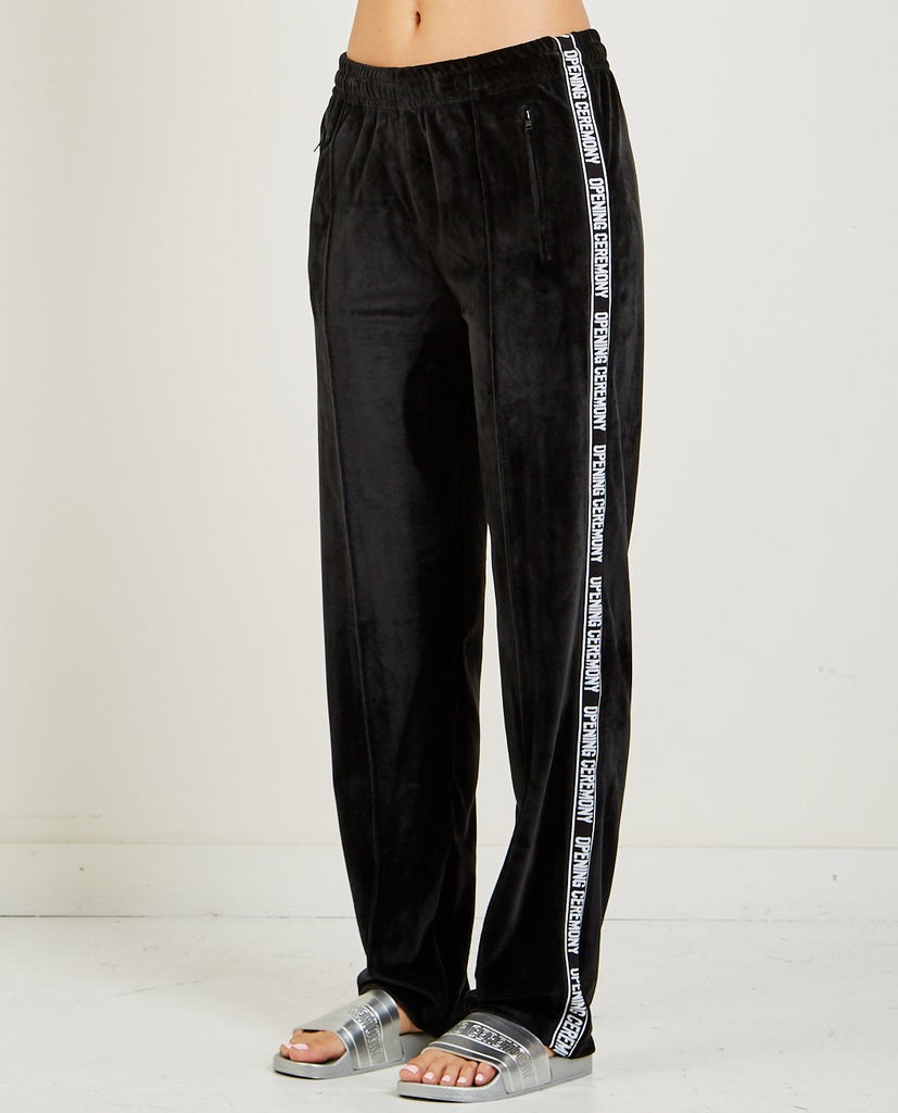 VELOUR TRACK PANT-OPENING CEREMONY-American Rag Cie