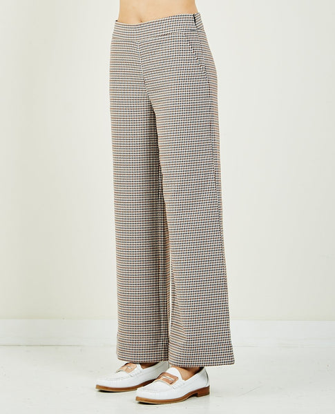 JUST FEMALE Vienna Houndstooth Trouser