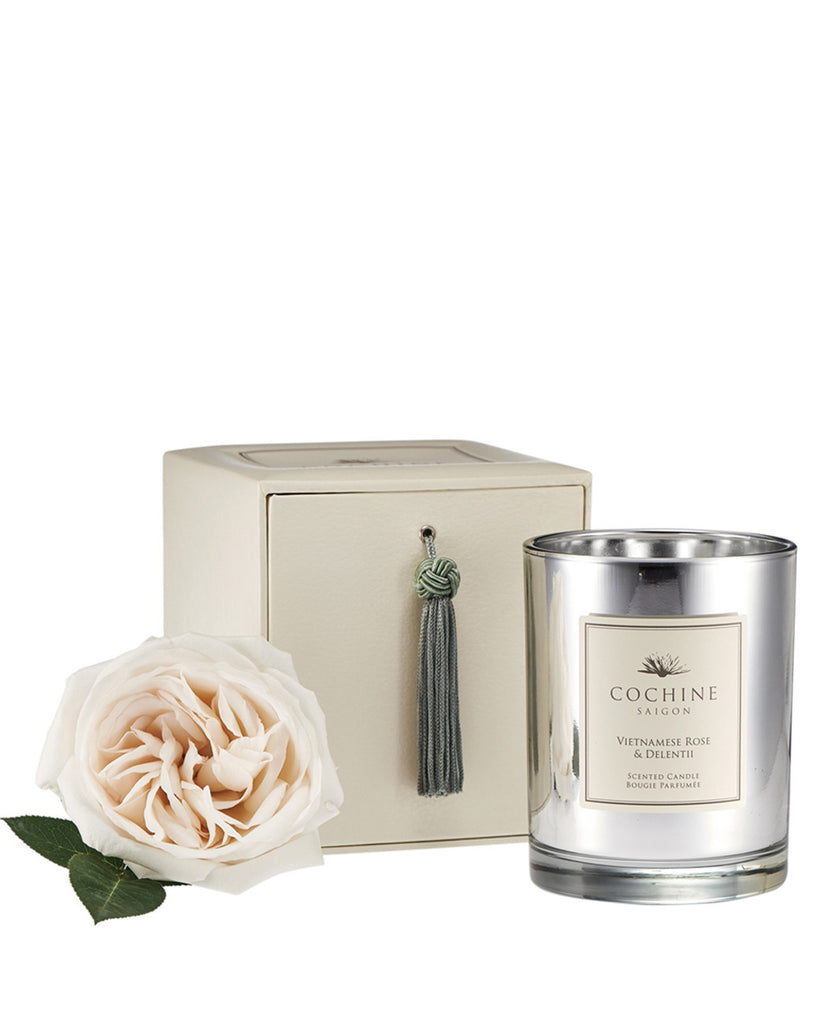 COCHINE SAIGON VIETNAMESE ROSE & DELENTII CANDLE