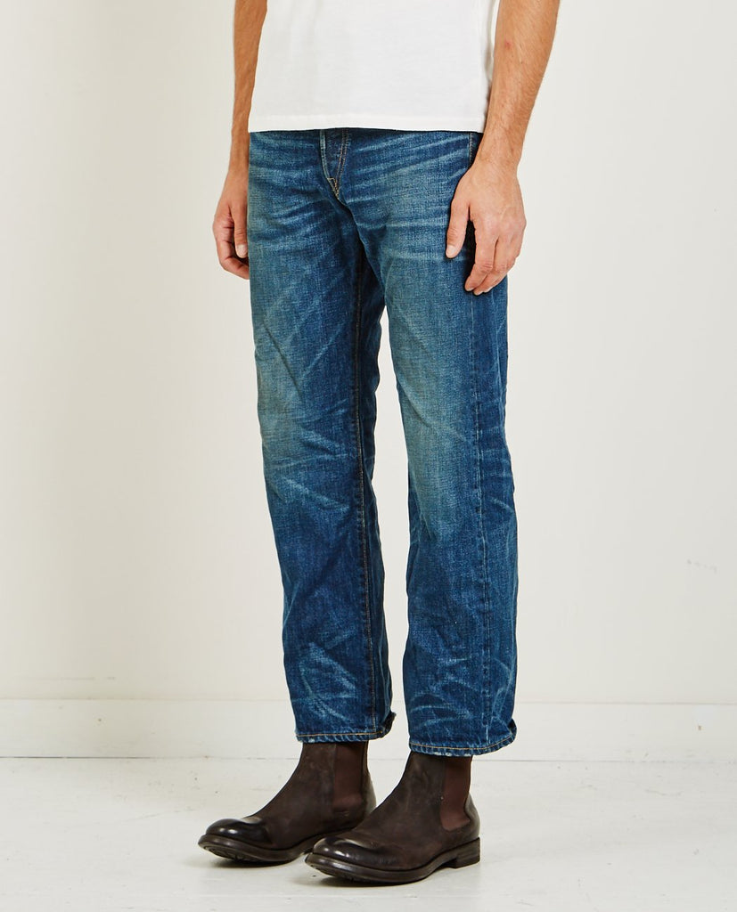 RRL-VINTAGE 5 POCKET DENIM-Men Straight-{option1]