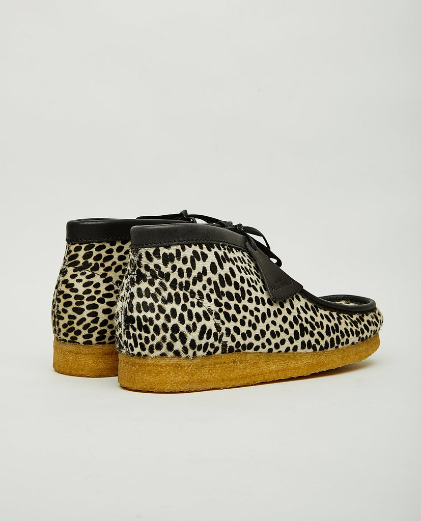 CLARKS ORIGINALS-WALLABEE BOOT CHEETAH-Men Boots-{option1]