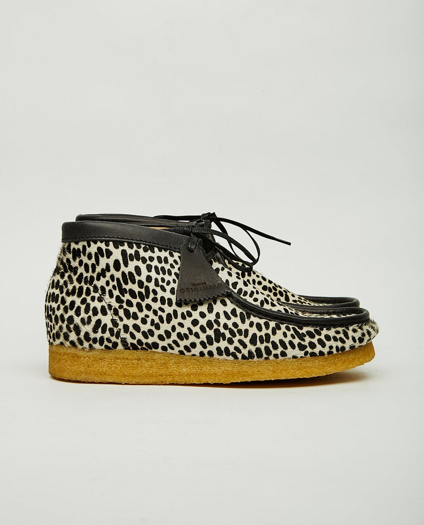 CLARKS ORIGINALS WALLABEE BOOT CHEETAH