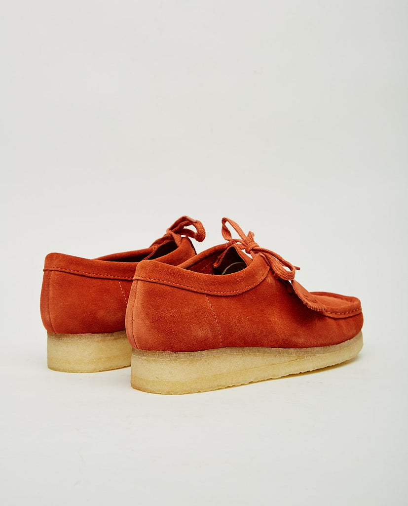WALLABEE BURNT ORANGE-CLARKS ORIGINALS-American Rag Cie
