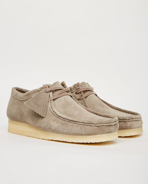 CLARKS ORIGINALS WALLABEE GREY