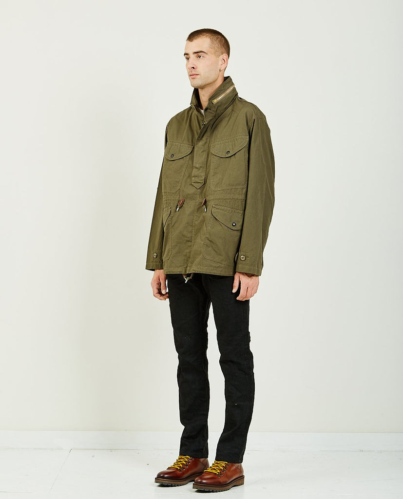 WALLACE JACKET NEW OLIVE-RRL-American Rag Cie