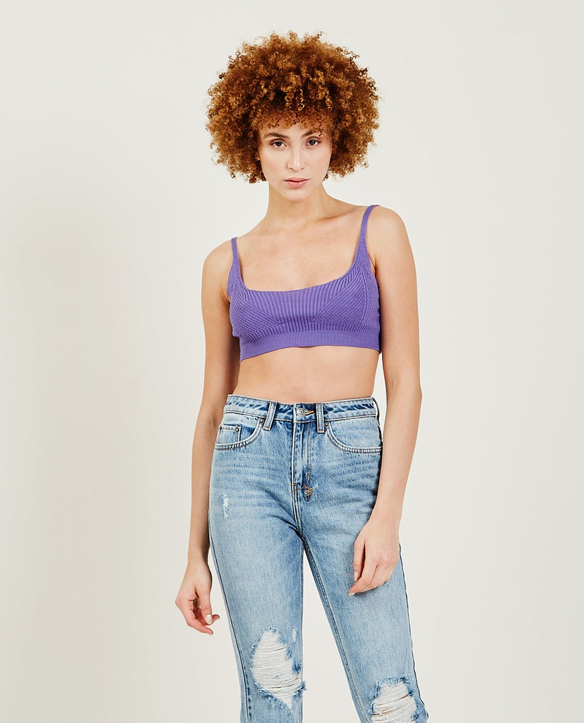 Waloma Knitted Crop Top-PALOMA WOOL-American Rag Cie