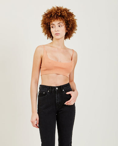 RICHER POORER Boxy Crop Tee Black