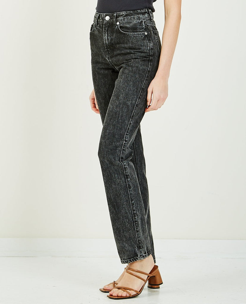 Washed Denim High Waisted Jean-GANNI-American Rag Cie