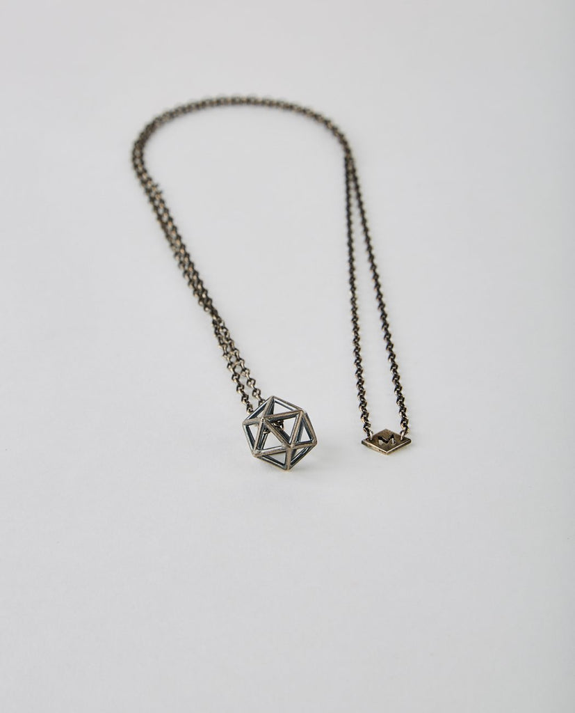 M. COHEN-WATER GEOMETRIC NECKLACE-Men Jewelry-{option1]