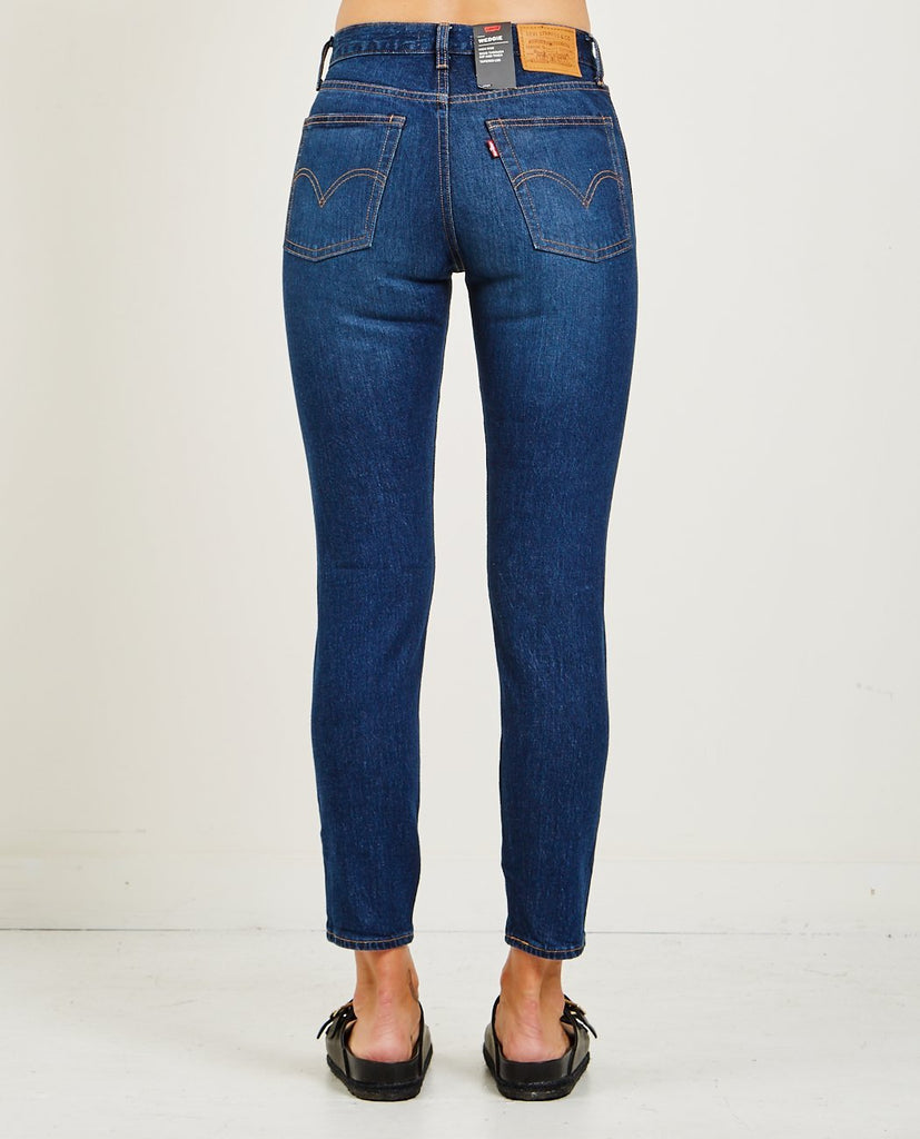 LEVI'S-WEDGIE ICON JEANS IN AUTHENTIC FAVORITE-Women Straight-{option1]