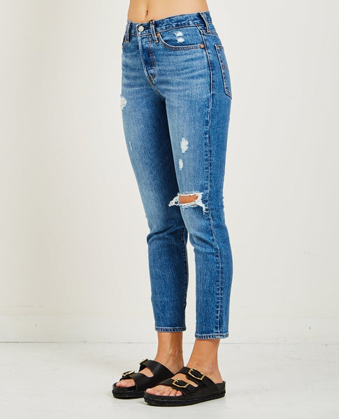 LEVI'S WEDGIE ICON JEANS IN HIGHER LOVE