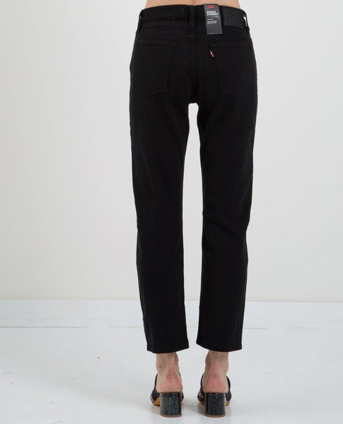 LEVI'S WEDGIE STRAIGHT JEAN BLACK HEART