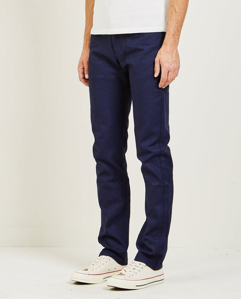 NAKED & FAMOUS Weird Guy Indigo Selvedge Duck