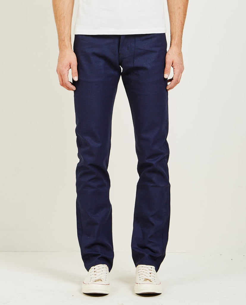 NAKED & FAMOUS-Weird Guy Indigo Selvedge Duck-Men Straight-{option1]