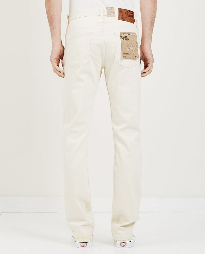 WEIRD GUY JEAN NATURAL SEED DENIM-NAKED & FAMOUS-American Rag Cie