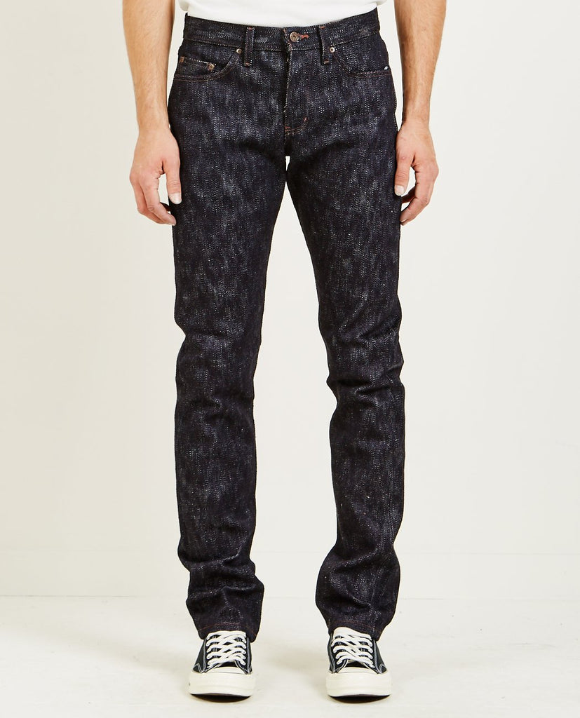 NAKED & FAMOUS-WEIRD GUY JEANS KING OF SLUB-Men Straight-{option1]