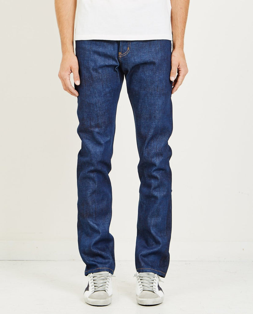 NAKED & FAMOUS WEIRD GUY KASURI SELVEDGE JEAN