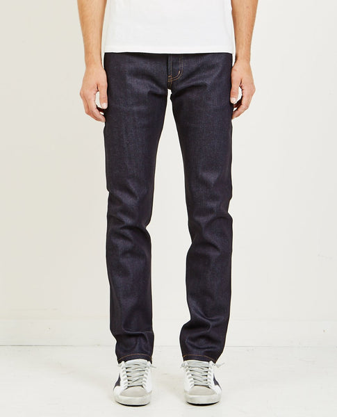 NAKED & FAMOUS Weird Guy Nightshade Stretch Selvedge Jean