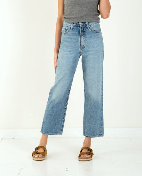 LEVI'S Wellthread Ribcage Straight Ankle Moon Stone