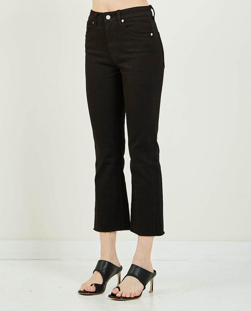 CQY-Wes Crop Black-Women Bootcut-{option1]