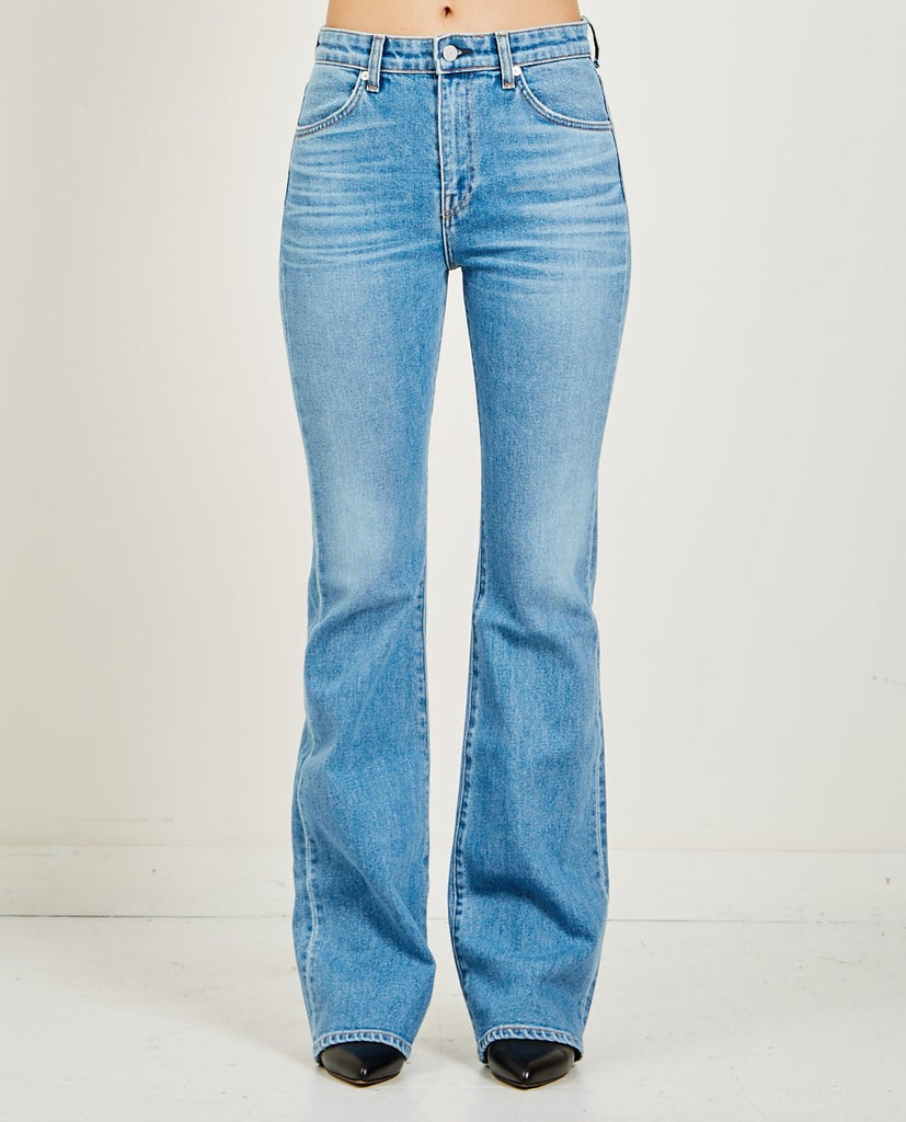 CQY-WES JEAN DREAM BLUE-Women Bootcut-{option1]