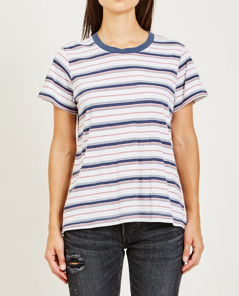 XIRENA WEST HANG TEN STRIPE TEE