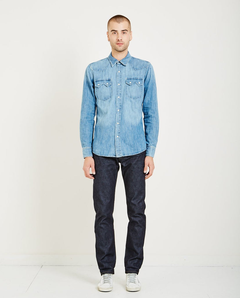 AR321 WESTERN WASHED SHIRT