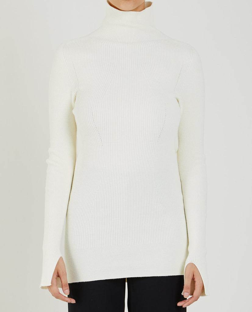 WHOLEGARMENT TURTLENECK SWEATER-DEMOO PARCKCHOONMOO-American Rag Cie