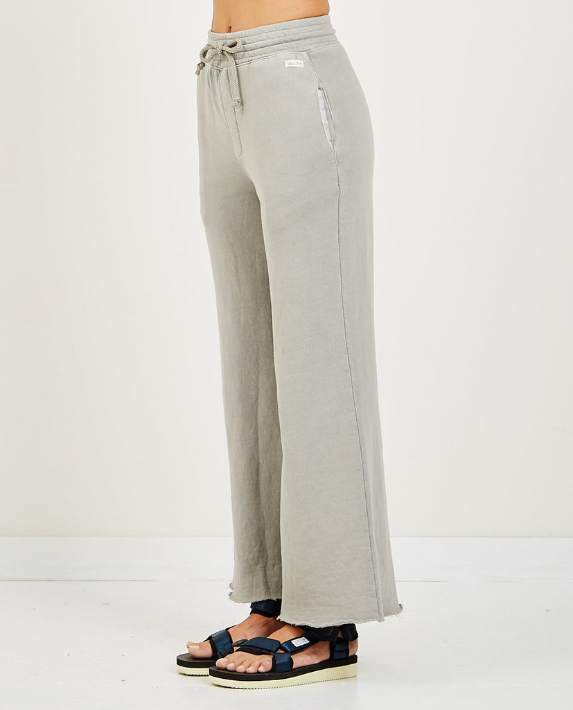 AR321-WIDE LEG LIGHT WEIGHT SWEATPANTS LIGHT GREY-Women Pants-{option1]