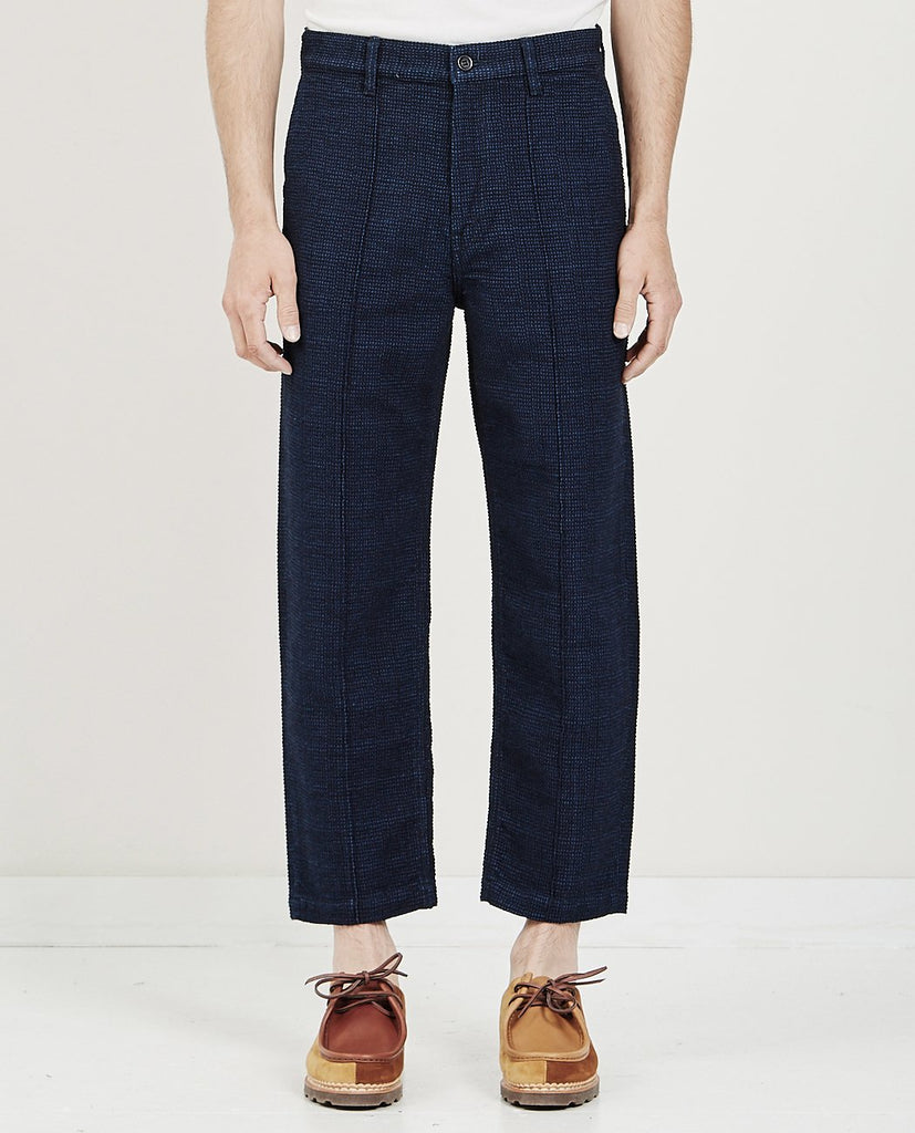 FDMTL-WIDE PANTS- INDIGO BLUE-Men Pants-{option1]