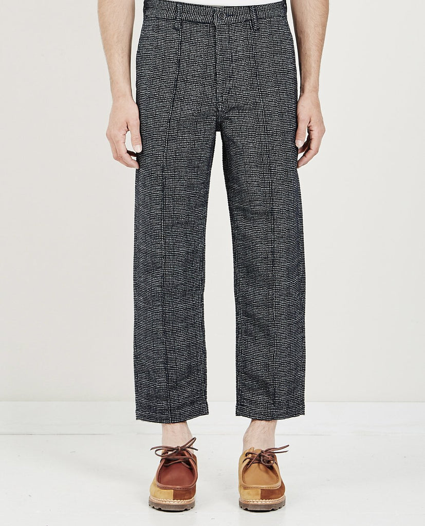 FDMTL WIDE PANTS INDIGO GRAY
