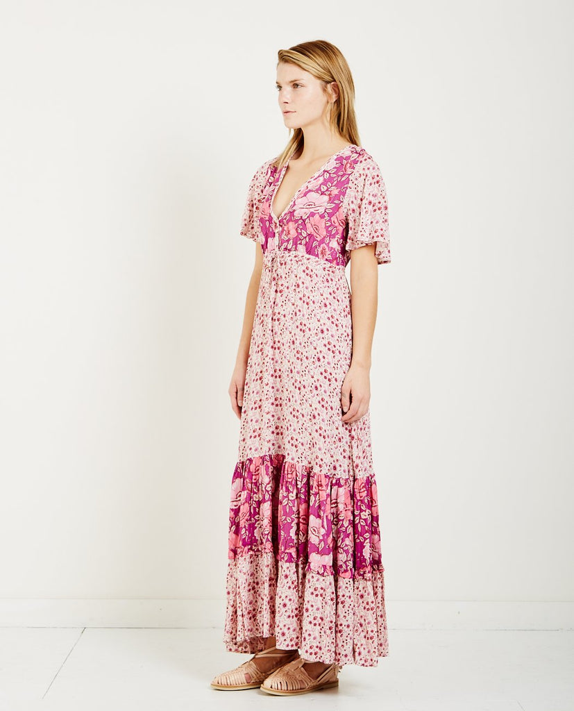 SPELL & THE GYPSY WINONA GOWN BERRY | AMERICAN RAG CIE