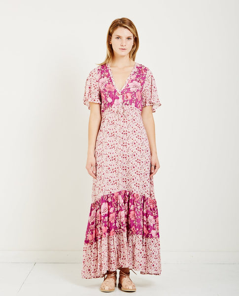 SPELL & THE GYPSY WINONA GOWN BERRY