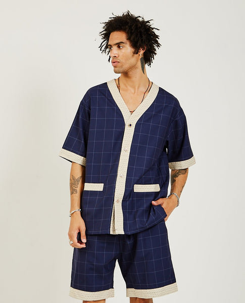 DROLE DE MONSIEUR Wool Check Shirt