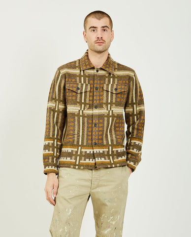 LEVI'S VINTAGE CLOTHING Block Sweatshirt Brown Multi