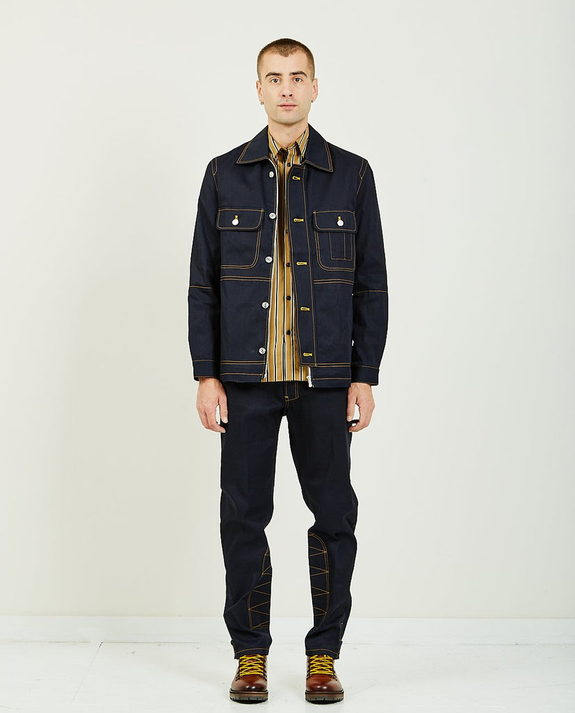 WORKWEAR DENIM JACKET-BAND OF OUTSIDERS-American Rag Cie