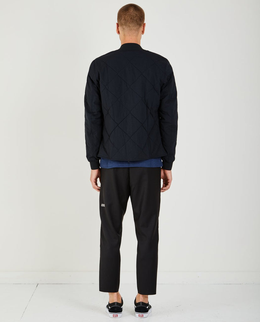 WOVEN ALPHA BOMBER-WINGS+HORNS-American Rag Cie
